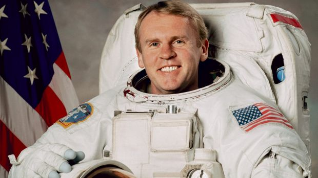 Andy Thomas, astronaut on the space shuttle.