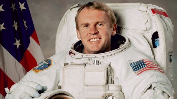 Andy Thomas, first Australian in space.