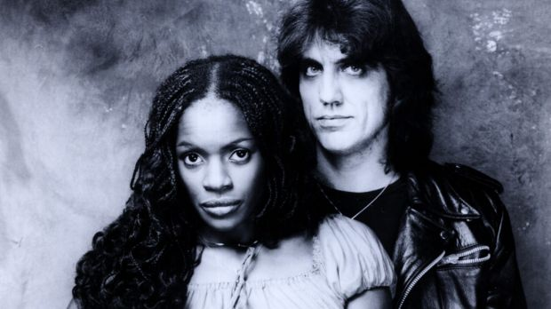 Marcia Hines and Jon English. Both appeared in the musical <i>Jesus Christ Superstar.</i>