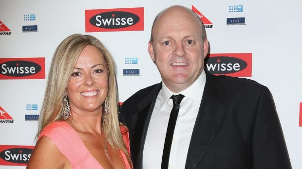 Billy Brownless and his ex-wife Nicky.