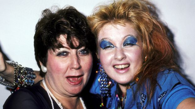 Cyndi Lauper and her mother, Catrine, in 1984, a year after the release of <i>Girls Just Wanna Have Fun</i>.