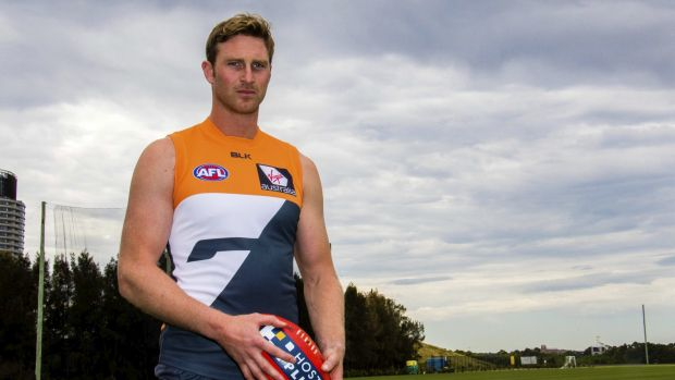 A true Giant: Greater Western Sydney ruckman Dawson Simpson is ready to make an impact.