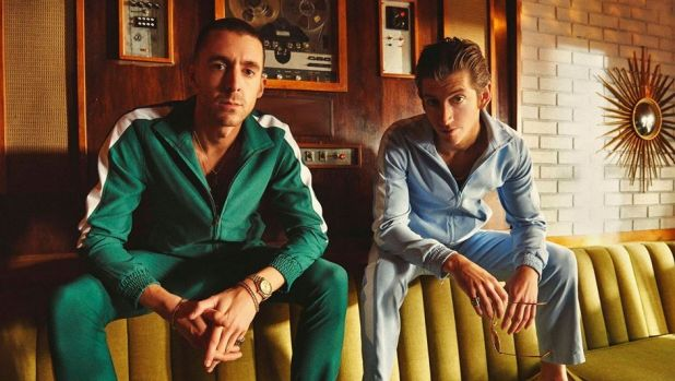 The Last Shadow Puppets are Miles Kane (left) and Alex Turner.