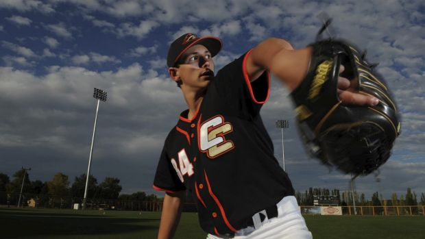 Canberra pitcher Brodie Cooper-Vassalakis will get a taste of MLB spring training.