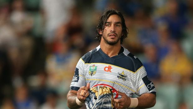 He's back: Johnathan Thurston returns for the Cowboys clash with the Eels.