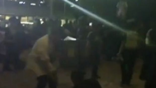 Rival teenage street gangs brawled in Melbourne CBD marring Moomba celebrations.