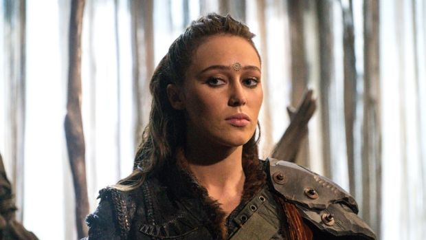 Australian actress Alycia Debnam-Carey as Lexa in The 100.