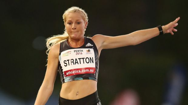 "Brooke Stratton said the jump was a ""massive confidence booster""."