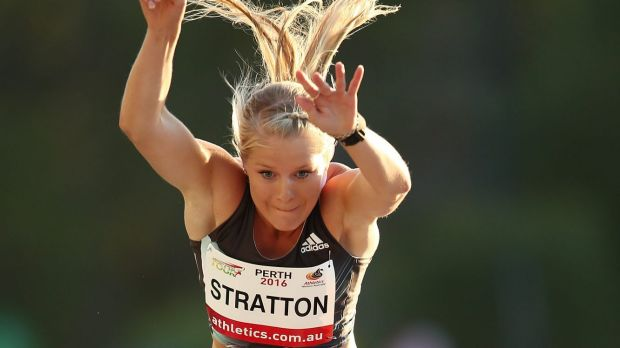 Stratton began the summer with a personal best of 6.73m.