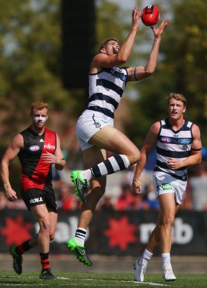 Ready to make his mark:  Geelong's Zac Smith.