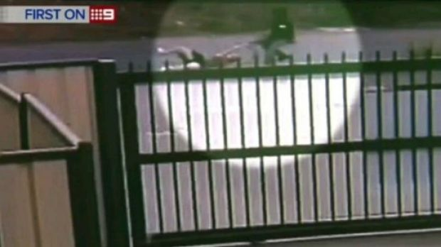 CCTV footage captured the woman being dragged along the road as she fought to hold on to her handbag,