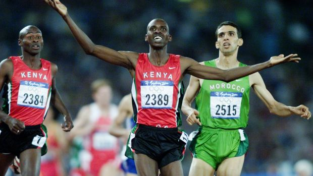 Quitting: Kenyan athletes representative Noah Ngeny, seen winning gold in the Sydney Olympics, has quit his post saying ...