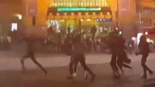 unprecedented rioting on the streets of Certainly it's unprecedented nothing like 1000 people rioting the street of brockport last night that&#39s wht happns when u close down all the bars pic.