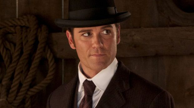 Yannick Bisson in <i>Murdoch Mysteries</i>.
