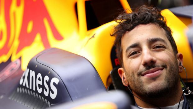 Contender: Ricciardo will be out to win his first Grand Prix in 2016.