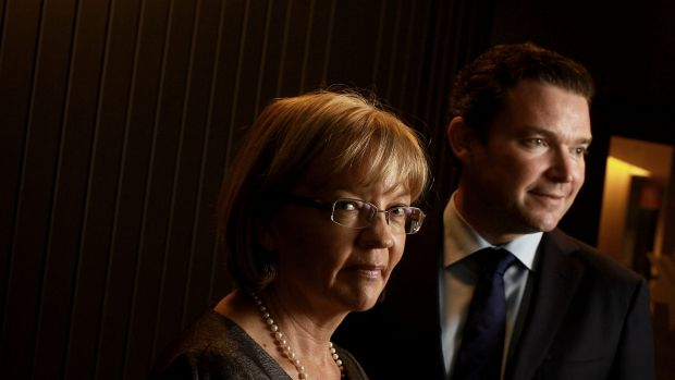 Christine Yates, executive general manager of NAB Private and Justin Greiner, chief executive of JBWere, talk about the ...