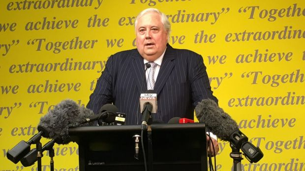 Clive Palmer has denied any wrongdoing.