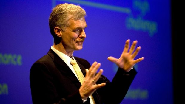 Andreas Schleicher of the OECD is concerned about falling Australian standards.