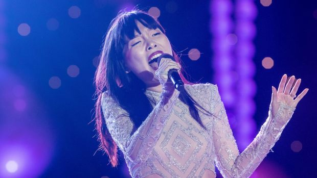 Dami Im is Australia's entry for Eurovision this year.