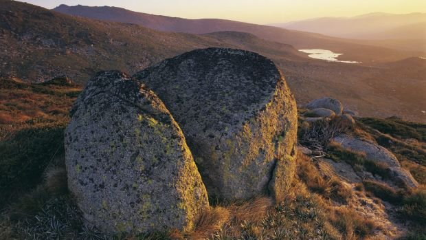 Views of Main Range, Kosciuszko National Park.