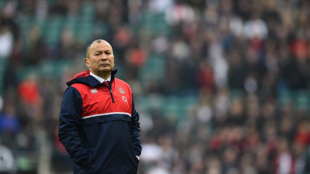 Great start: Eddie Jones has led England to Six Nations success in his first campaign.