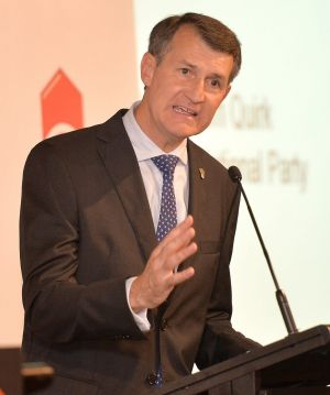 Lord Mayor Graham Quirk again skewered Labor on its proposed light rail system.
