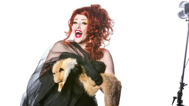 Foxy lady: Geraldine Quinn celebrates a decade of cabaret comedy in Could You Repeat That?