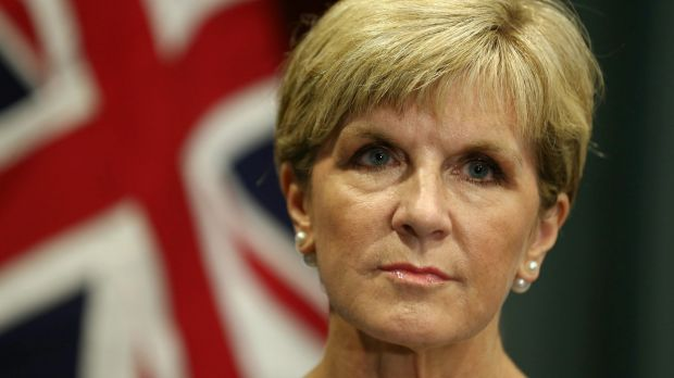 Foreign Minister Julie Bishop