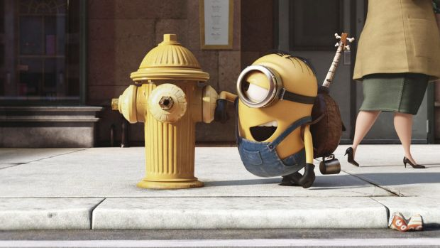 """""""Minions""""  was the most profitable movie ever made by Universal."""