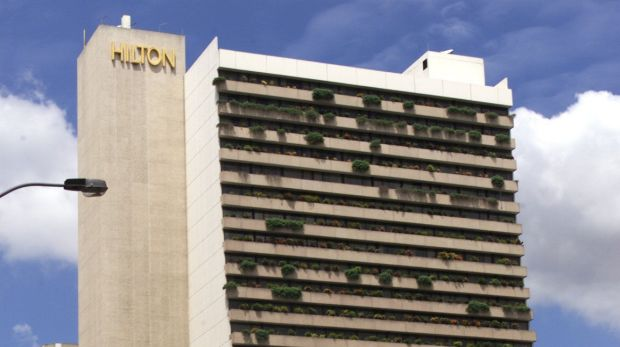 Guests reported falling ill after a wedding at the Hilton Brisbane.