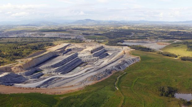 A hunter coal mine: the environment office argued against using mine rehabilitation as a biodiversity offset.