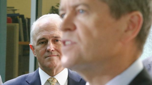 As Malcolm Turnbull shrinks, Bill Shorten is quietly growing larger.