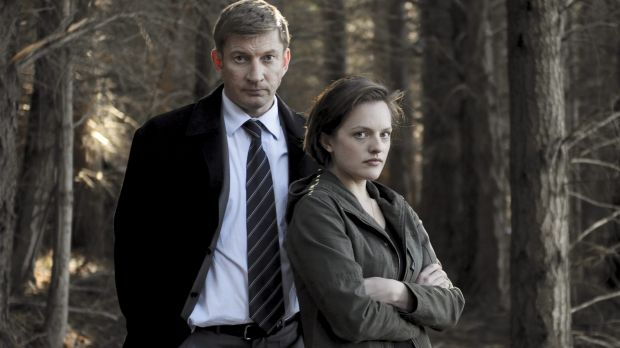 <i>Top of the Lake</i> season one starring David Wenham and Elisabeth Moss.