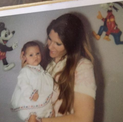 Victoria Beckham shared this picture of herself and her lookalike mum to her Instagram account, to celebrate Mother's ...