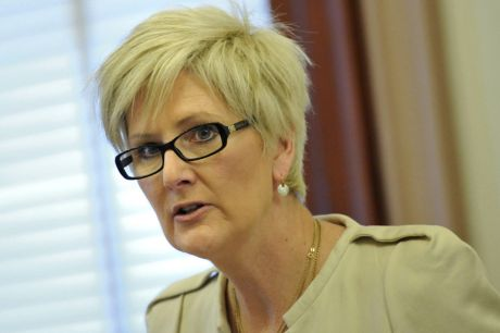 Education department secretary Gill Callister appeared before the youth justice hearing.