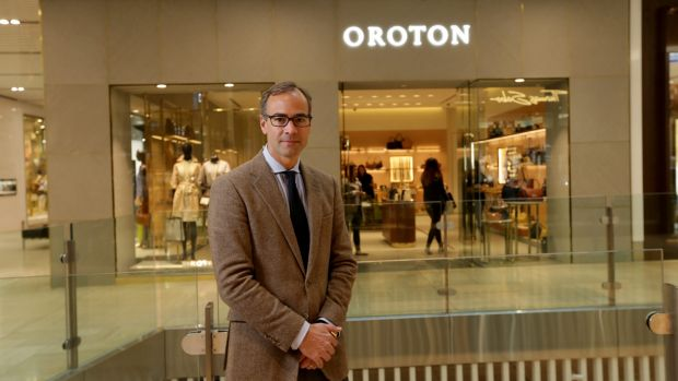 """Oroton chief executive Mark Newman wants its handbags to become """"accessible luxuries""""."""
