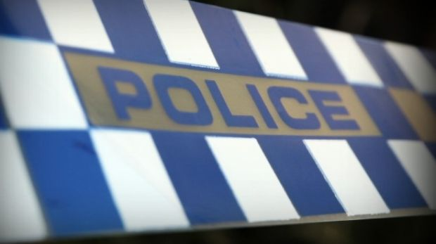 Police are hunting a gunman who posed as a police office at Wilston,