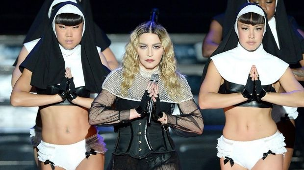 Madonna performs in Brisbane as part of her Rebel Heart Tour.