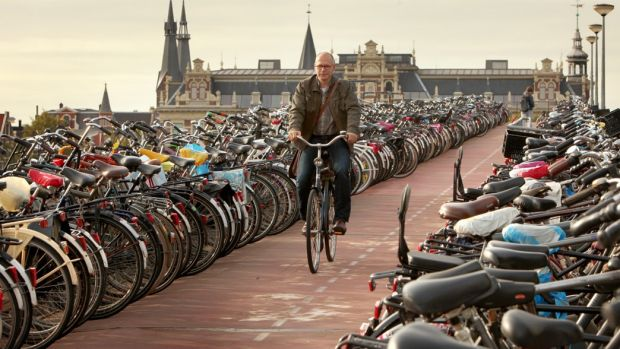 Amsterdam didn't become a cyclist's paradise by accident.