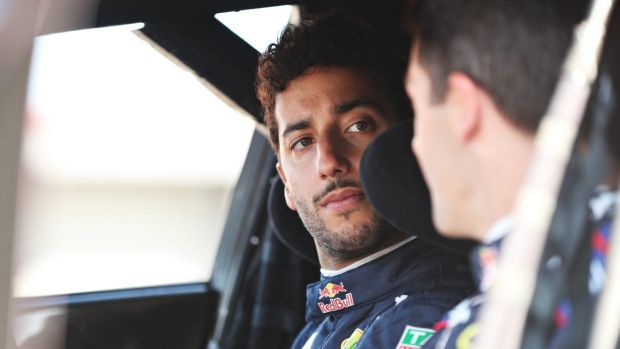 On track: Daniel Ricciardo has learnt to control his emotions.