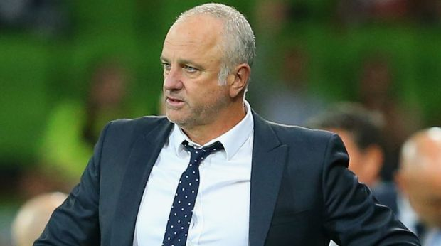 Rebuild:  Graham Arnold the coach of Sydney FC is looking to the future.