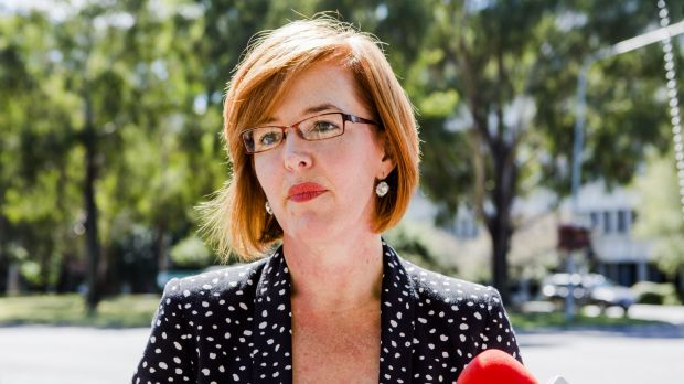 Unimpressed: Transport and Municipal Services Minister Meegan Fitzharris.