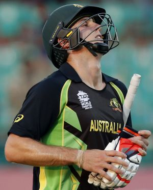 Mitchell Marsh scored 24 but it was not enough to get Australia home against NZ.