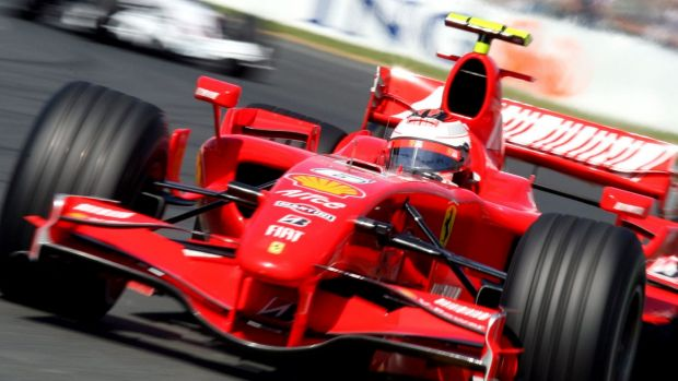 Ferrari racers always have a big following at the Melbourne Grand Prix.