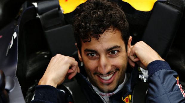 Full-on: Daniel Ricciardo has given a white-knuckle qualifying performance.