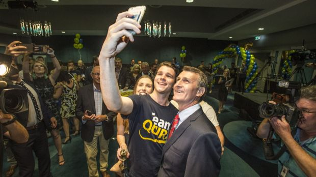Lord Mayor Graham Quirk led the LNP to a record Brisbane City Council majority.