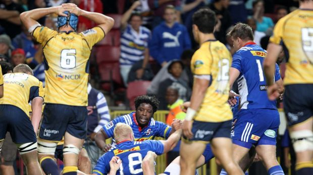 The Brumbies crashed to their first loss of the season in Cape Town.