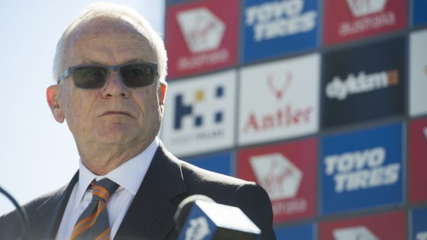 Unhappy about the late start to the season: Giants boss Tony Shepherd.