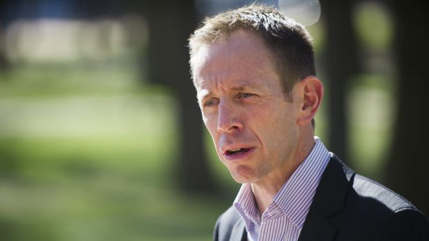 ACT Minister for Education Shane Rattenbury said it was not normal for schools to seek permission from parents before ...