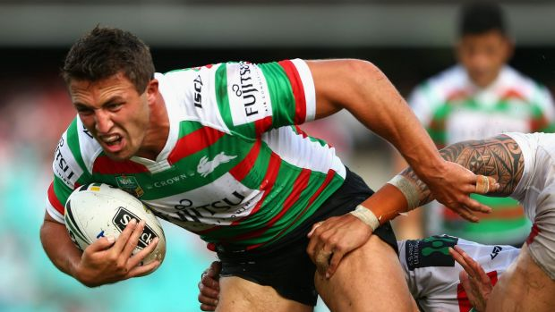 Bunny is back: Sam Burgess will return from injury this week.